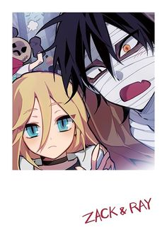 君が笑うまで Angels of Death Fanart Ray and Zack