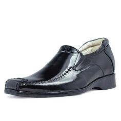 Black  mens elevator shoes uk 6.5cm / 2.56inch with the SKU:MENJGL_1241E - men height increasing casual shoes become taller 6.5cm / 2.56inches
