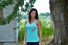 thesouthernpinkboutique.com  Look Around Aztec Tank in Aqua