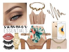 """C"" by blonde-613 ❤ liked on Polyvore featuring Topshop, Rebecca Minkoff, Michael Kors, Chanel, Lime Crime, Jennifer Behr and Anastasia Beverly Hills"