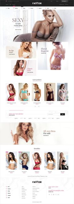 Fastor is clean, stylish and modern design responsive #Magento 2 theme for #sexy #lingerie shop stunning #eCommerce website with 74 niche homepage layouts download now..