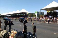 Polícia Federal é ovacionada durante desfile de 7 de Setembro em Brasília