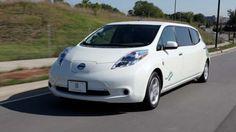 Nissan LEAF Electric Stretch Limo