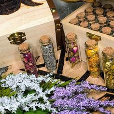 WITCH BOXES & KITS Wooden Box styles by TowneWitchCreations Crystals And Gemstones, Stones And Crystals, Witchcraft Supplies, Witch Jewelry, Wooden Boxes, Wands, Etsy Seller, Wicca, Unique Jewelry