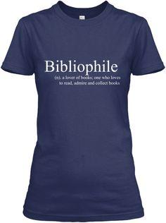 **Limited Edition Bibliophile**   Teespring