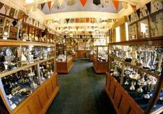 IBROX trophy room