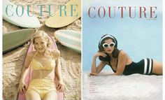 couture vintage magazine covers - Google Search
