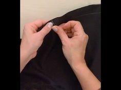 Dikiş, Bayan pantolon dikimi, pantolon kumaşının serimi, kesimi, dikimi, ders/28 - YouTube