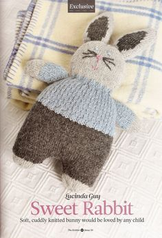 Hooked on crochet: Sweet Rabbit
