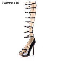 20e5512c4 KarinLuna 2018 brand large sizes 34-41 Colorful Rhinestone crystals Heels  peep Toe Summer women s Shoes Woman Sandals slippers