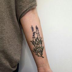 lavendar tattoo