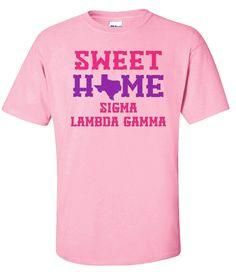 Sigma Lambda Gamma Sweet Home Tee from GreekGear.com