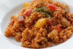 【再現レシピ】デニーズのジャンバラヤがもう一度食べたくて作ってみた!!☆使い切れないスパイスのレシピも! : みんなで食べよ!~おうちごはん Powered by ライブドアブログ Home Recipes, Asian Recipes, Ethnic Recipes, Jambalaya, Copycat Recipes, Fried Rice, Love Food, Food And Drink, Cooking