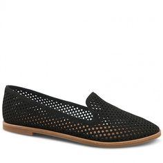 Wittner Quartz Loafer Black Leather