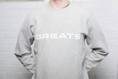 Introducing our GREATS crew neck in Cargo, Ox Blood, Cadet & Nimbus. Now available to shop at GREATS.com