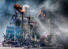 Jen Ledger of Skillet Girl Drummer, Female Drummer, Kiss Forever, Whispers In The Dark, Christian Music Artists, Skillet Band, Jen Ledger, Christian Rock Bands, Raider Nation