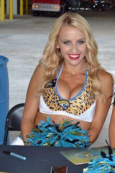 Jessica of the ROAR, Jacksonville Jaguars | by jackson1245