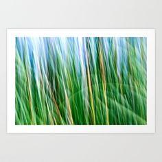 Breezy Art Print by Shawn Terry King - $16.00