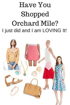 My Orchard Mile Fashion Favorites   When it comes to designer labels Orchard Mile is the place to shop!  Get ready for Spring and Summer with top fashion selections!  They have everything from jeans to cute bags and accessories, even gala dresses!  Gorgeous styles - they have everything when it comes to high end fashion!   #sp