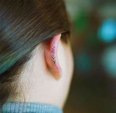 17 Helix Tattoos That Are So Much Better Than Earrings  SHESAID Australia
