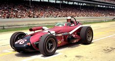 Johnny Rutherford 1964 Indy 500.