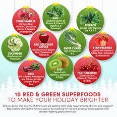 10 Superfoods To Give You A Holiday Boost