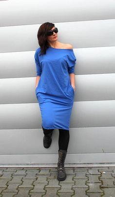 One Shoulder, Shoulder Dress, Etsy, Dresses, Fashion, Vestidos, Moda, Fashion Styles, Dress