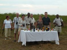 Upscale sundowner at Camp Okavango in Botswana Botswana101.com #UpscaleSundownerBotswana