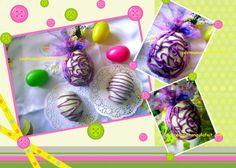 De faux œufs de Pâques ... mais de vrai gâteaux ...
