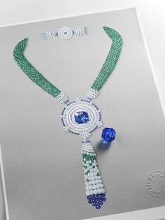 van cleef and arpels peau dane-the Miroir enchanté necklace