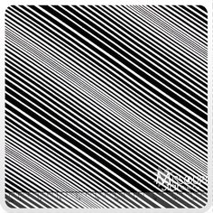 Op Art Reflections - Illusion Stripe Black Yardage from Missouri Star Quilt Co