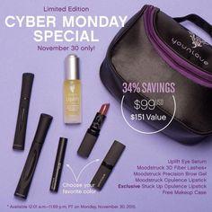 #cybermonday #sale #deal #Younique  simplysensiblechristina.com