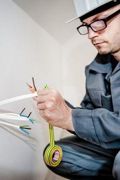 Berliner Elektriker Kabel verlegen