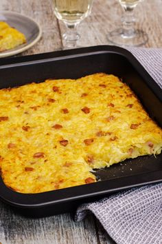 Rösti-Auflauf potato al horno asadas fritas recetas diet diet plan diet recipes recipes Crockpot Recipes, Chicken Recipes, Vegan Recipes, Sausage Recipes, Ham Recipes, Italian Recipes, Bread Recipes, Sweet Potato Hash Browns, Low Calorie Lunches