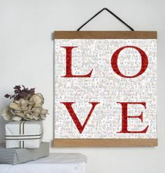 £15 - £20 A fabulous modern way to display your photographs. This design would make an ideal gift for a special birthday, anniversary, christening or an ideal wedding present.  Even works well using your Instagram or Facebook pictures.