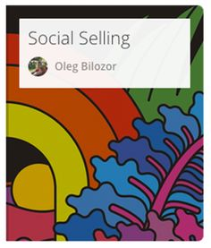 "In this course you will learn what Social Selling really is, what actions create only ""white noise"" and what actions really draw results, what effective approaches and tools you can utilise.  #social #selling"