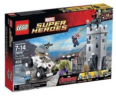 NEW LEGO Marvel Super Heroes Avengers The Hydra Fortress Smash Set #76041 #LEGO