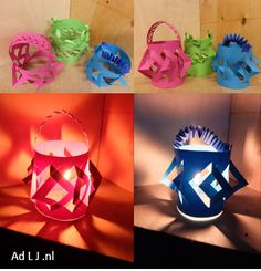 Lampion Knip&vouw Lantern Festival, Candle Lamp, Chinese New Year, Paper Lanterns, Chinese New Years Candle Lamp, Candles, Lantern Festival, Paper Lanterns, Chinese New Year, Light Up, Diy And Crafts, Xmas, St John's