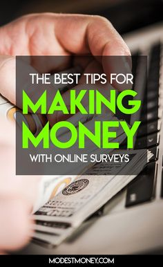 The best tips for making money with online surveys Make Money Today, Earn More Money, How To Get Money, Cash Money, Make Money Online Surveys, Paid Surveys, Self Employed Jobs, I Have Your Back, Survey Sites That Pay