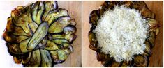 Roasted Vegetable Tart with Eggplant Crust - Proud Italian Cook Roasted Vegetable Lasagna, Vegetable Tart, Roasted Vegetables, Vegetable Dishes, Vegetarian Recipes Dinner, Keto Recipes, Cooking Recipes, Spaghetti Squash Lasagna, Yellow Squash And Zucchini
