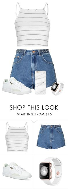 """#0092"" by killerxbabe ❤ liked on Polyvore featuring Glamorous and Puma"