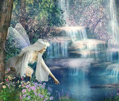 Fairy blessing water
