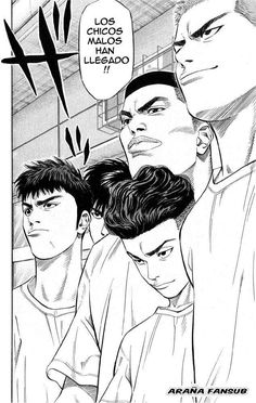 Read Slam Dunk Chapter 221 : Hurry And See Sannoh - There are many different popular mangas out there in the real world, but this particular form of anime can be hard to find, especially if looking for something that was originally in print ye Manga Anime, Comic Manga, Manga Comics, Comics Illustration, Illustrations, Slam Dunk Manga, Inoue Takehiko, Basketball Art, Manga Artist
