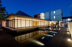 Kionji Temple by Waro Kishi + K. Associates/Architects  #architecture #culture #temple #modern #Zen