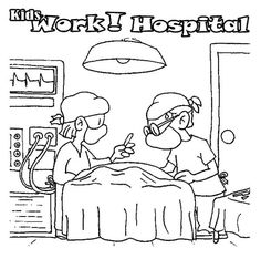 34 Hospital Coloring Pages Ideas Coloring Pages Hospital Coloring Pages For Kids