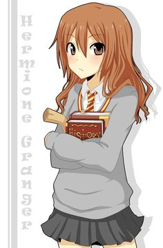 Harry Potter anime: Hermione Granger