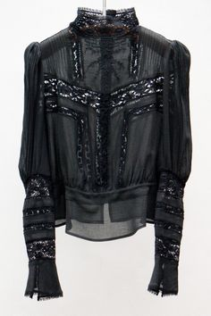 Isabel Marant - Hamilton Top — Black♕ॐ☚★ Dark Fashion, Denim Fashion, Womens Fashion, Isabel Marant, Looks Style, Style Me, Look Chic, Mode Inspiration, Mode Style