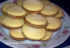 Hungarian Recipes, Small Cake, Pavlova, Biscotti, Ham, Muffins, Bakery, Goodies, Food And Drink