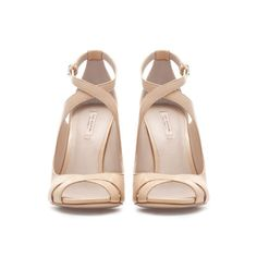 #10SummerShoes CROSS STRAP HIGH - HEEL SANDALS - Shoes - Woman | ZARA United States