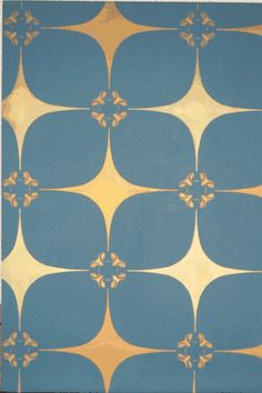 Atomic Starburst Fabric   MCM Home Improvement – Wall Treatments and More Fabric